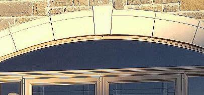 porch enclosure arch