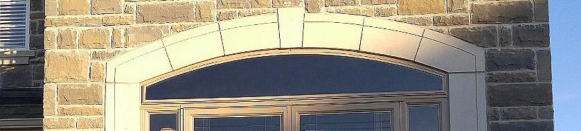 Arched porch enclosure